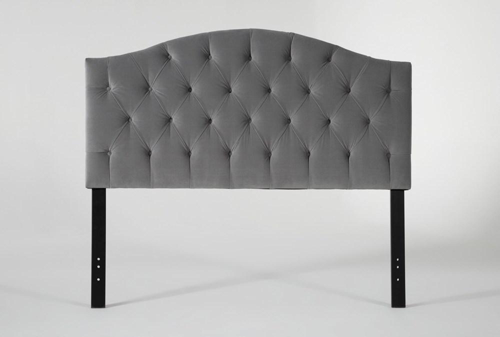 Bella Eastern King Velvet Upholstered Headboard