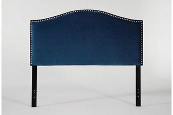 Belmont Queen Velvet Upholstered Headboard