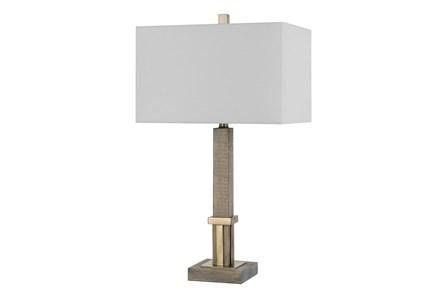 Floor Lamp-Tindo Wood - Main
