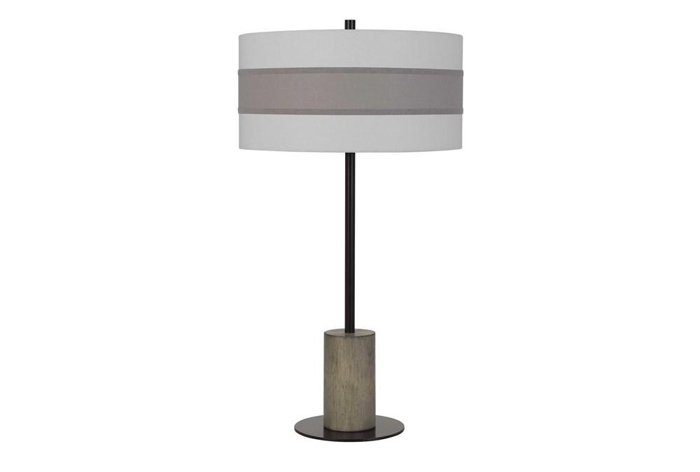 Table Lamp-Jamille Wood Metal