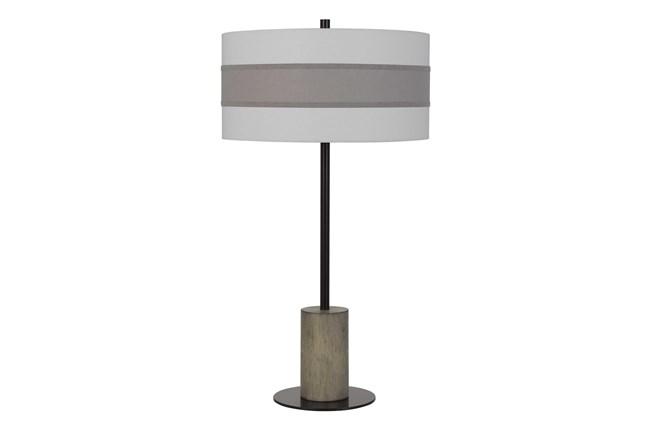 Table Lamp-Jamille Wood Metal - 360