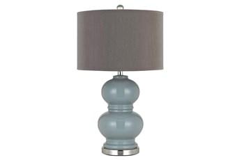 Table Lamp-Britta Ceramic Blue