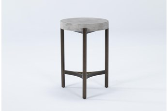 Stratus Small Round End Table