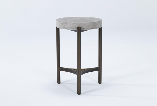 Stratus Small Round End Table - 360