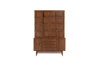Magnolia Home Slide Walnut Hutch By Joanna Gaines