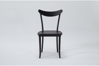 Magnolia Home Black Lucy Dining Side Chair By Joanna Gaines