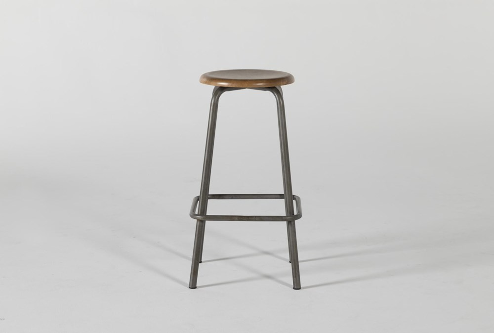"Magnolia Home Coffee Shop 28"" Bar Stool By Joanna Gaines"
