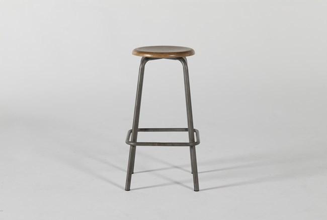 "Magnolia Home Coffee Shop 28"" Bar Stool By Joanna Gaines - 360"