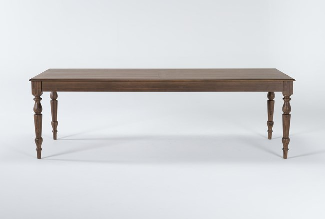 Magnolia Home Webster Walnut 96 Inch Dining Table By Joanna Gaines - 360