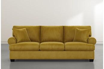 Brody Gold Velvet Sofa