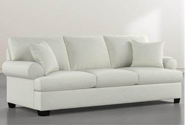 "Brody Green 93"" Sofa"