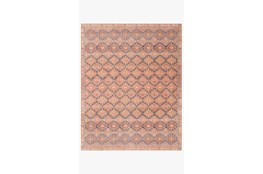 90X114 Rug-Magnolia Home Deven Persimmon/Indigo By Joanna Gaines