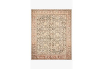 """3'5""""x5'5"""" Rug-Magnolia Home Deven Charcoal/Blush By Joanna Gaines"""