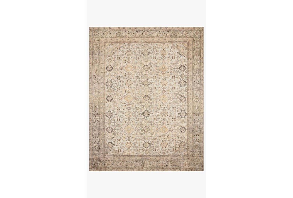 90X114 Rug-Magnolia Home Deven Bordeaux/Multi By Joanna Gaines