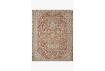 """2'3""""x3'7"""" Rug-Magnolia Home Deven Spice/Sky By Joanna Gaines"""