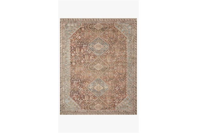 60X90 Rug-Magnolia Home Deven Spice/Sky By Joanna Gaines - 360