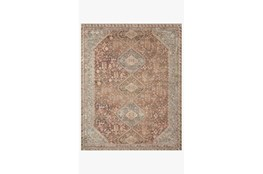 90X114 Rug-Magnolia Home Deven Spice/Sky By Joanna Gaines