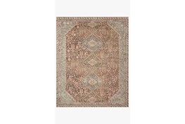 """7'5""""x9'5"""" Rug-Magnolia Home Deven Spice/Sky By Joanna Gaines"""
