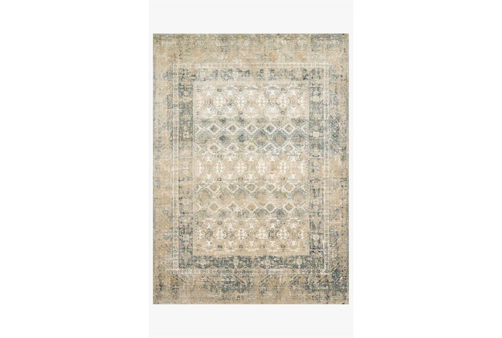 31X92 Rug-Magnolia Home James Sand/Ocean By Joanna Gaines
