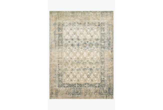 31X92 Rug-Magnolia Home James Sand/Ocean By Joanna Gaines - 360