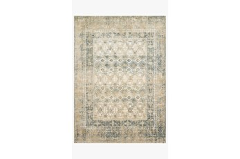 94X130 Rug-Magnolia Home James Sand/Ocean By Joanna Gaines
