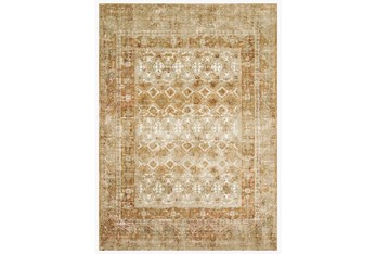"""2'6""""x7'7"""" Rug-Magnolia Home James Spice/Gold By Joanna Gaines"""