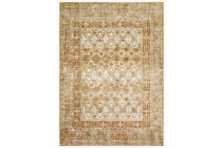 114X156 Rug-Magnolia Home James Spice/Gold By Joanna Gaines