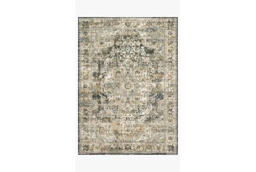 """2'6""""x4' Rug-Magnolia Home James Natural/Fog By Joanna Gaines"""