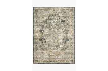 31X92 Rug-Magnolia Home James Natural/Fog By Joanna Gaines