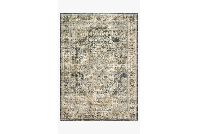 31X92 Rug-Magnolia Home James Natural/Fog By Joanna Gaines - 360