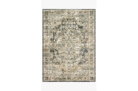 63X92 Rug-Magnolia Home James Natural/Fog By Joanna Gaines