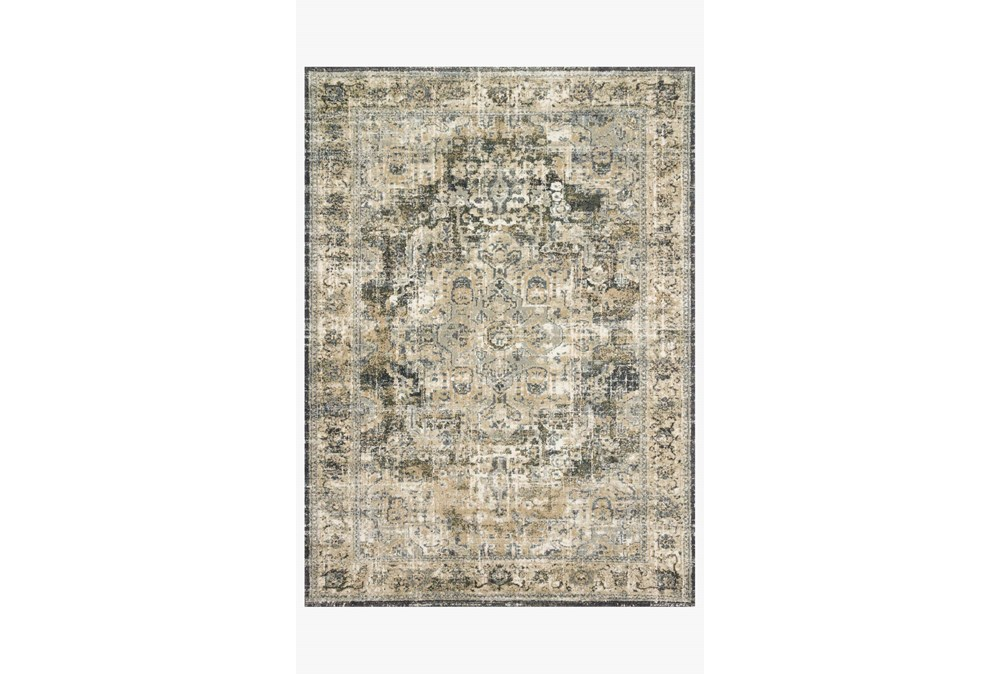 """9'5""""x13' Rug-Magnolia Home James Natural/Fog By Joanna Gaines"""