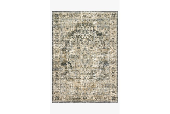 """9'5""""x13' Rug-Magnolia Home James Natural/Fog By Joanna Gaines - 360"""