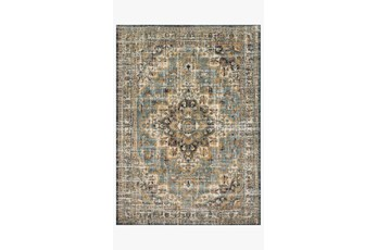 31X92 Rug-Magnolia Home James Sky/Multi By Joanna Gaines