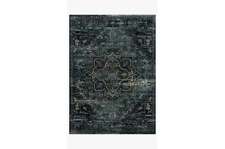 114X156 Rug-Magnolia Home James Ocean/Onyx By Joanna Gaines