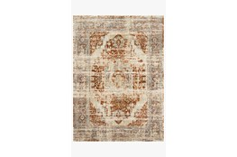 63X92 Rug-Magnolia Home James Rust/Sky By Joanna Gaines