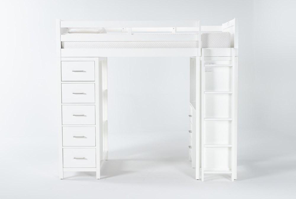 Reese White Loft Bed