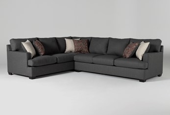 """Scott II 2 Piece 123"""" Sectional With Right Arm Facing Sofa"""