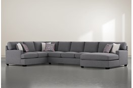 "Scott 3 Piece 156"" Sectional With Right Arm Facing Chaise"