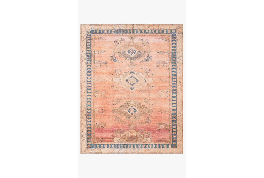 90X114 Rug-Magnolia Home Deven Sunset/Indigo By Joanna Gaines
