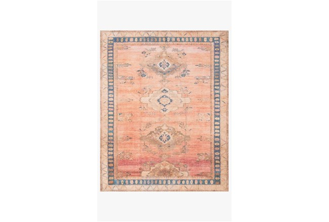 90X114 Rug-Magnolia Home Deven Sunset/Indigo By Joanna Gaines - 360
