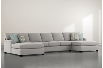 "Jenner 3 Piece 170"" Sectional With Double Chaise"