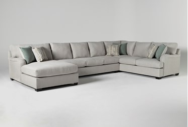 """Jenner 3 Piece 163"""" Sectional With Left Arm Facing Chaise"""