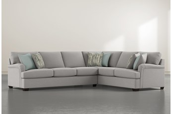 "Jenner 2 Piece 137"" Sectional With Left Arm Facing Sofa"