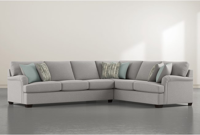 """Jenner 2 Piece 137"""" Sectional With Left Arm Facing Sofa - 360"""