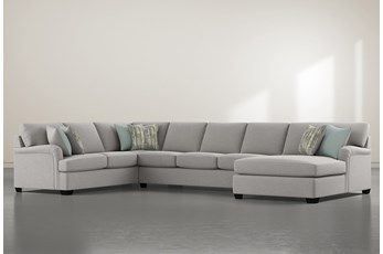 "Jenner 3 Piece 163"" Sectional With right Arm Facing Chaise"