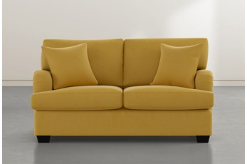 Jenner Gold Loveseat