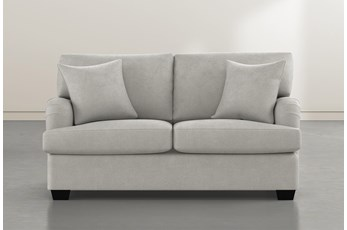 Jenner Light Grey Loveseat