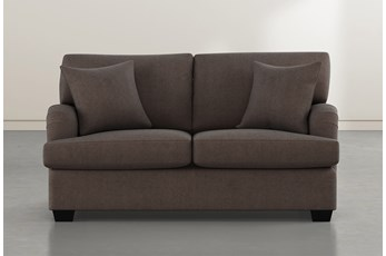 Jenner Brown Loveseat