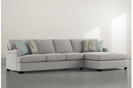 Jenner 2 Piece Sectional With Right Arm Facing Chaise